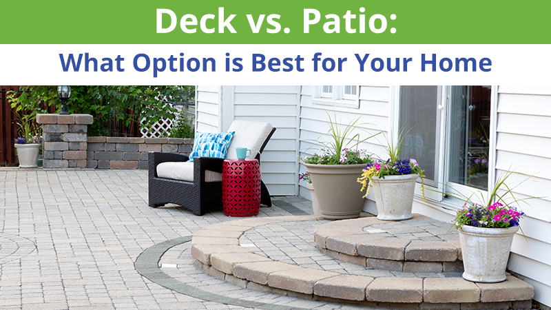 Deck vs. Patio: How to Make the Right Decision for Your Family