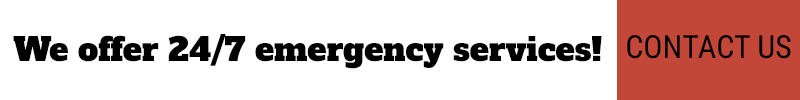We offer 24'7 emergency services! Contact us