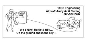 PACS Engineering - Aircraft Certification Analysis & Testing Logo