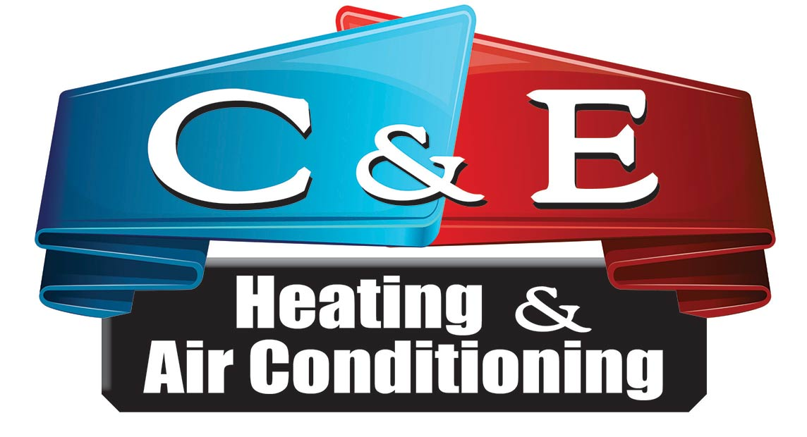 C & E Heating & Air Conditioning Logo