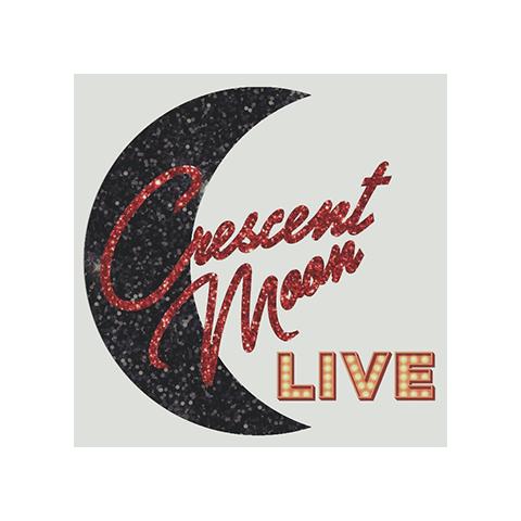 Crescent Moon Live Logo
