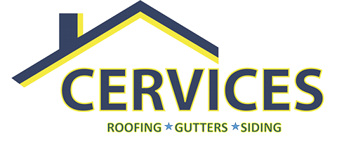 Cervices, LLC Roofing, Gutters, and Siding Logo