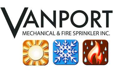Vanport Mechanical & Fire Sprinkler Logo
