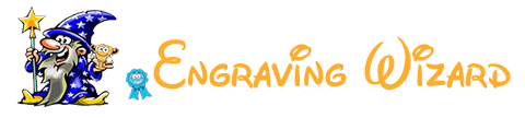 Engraving Wizard Awards Specialist Logo