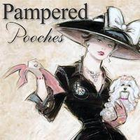 Pampered Pooches Pet Salon and Pawtique Logo
