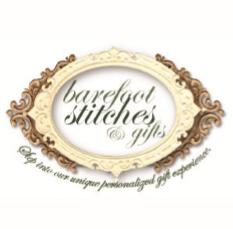 Barefoot Stitches & Gifts Logo