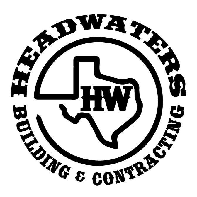 Headwaters Building and Contracting Logo