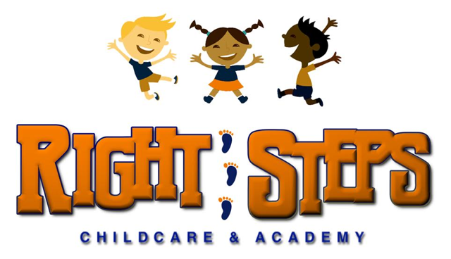 Right Steps Childcare & Academy Logo