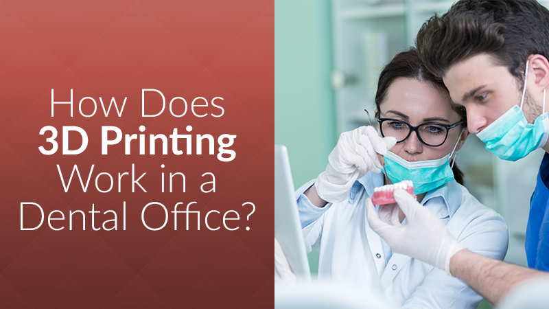 How Does 3D Printing Work in a Dental Office?