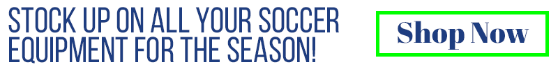 Stock up on all your soccer equipment for the season! Shop now