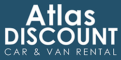 Atlas Discount Car & Van Rental Logo