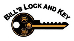 Bill's Lock & Key Logo