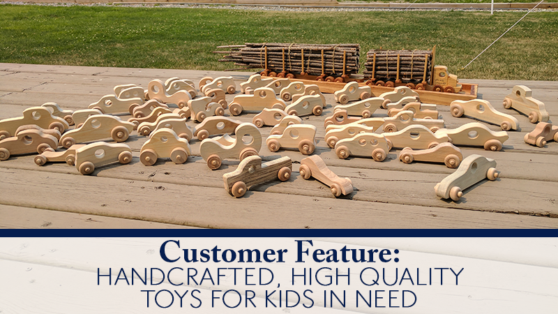 Customer Feature: Handcrafted, High Quality Toys for Kids in Need