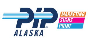 PIP Marketing Signs Print of Alaska Logo