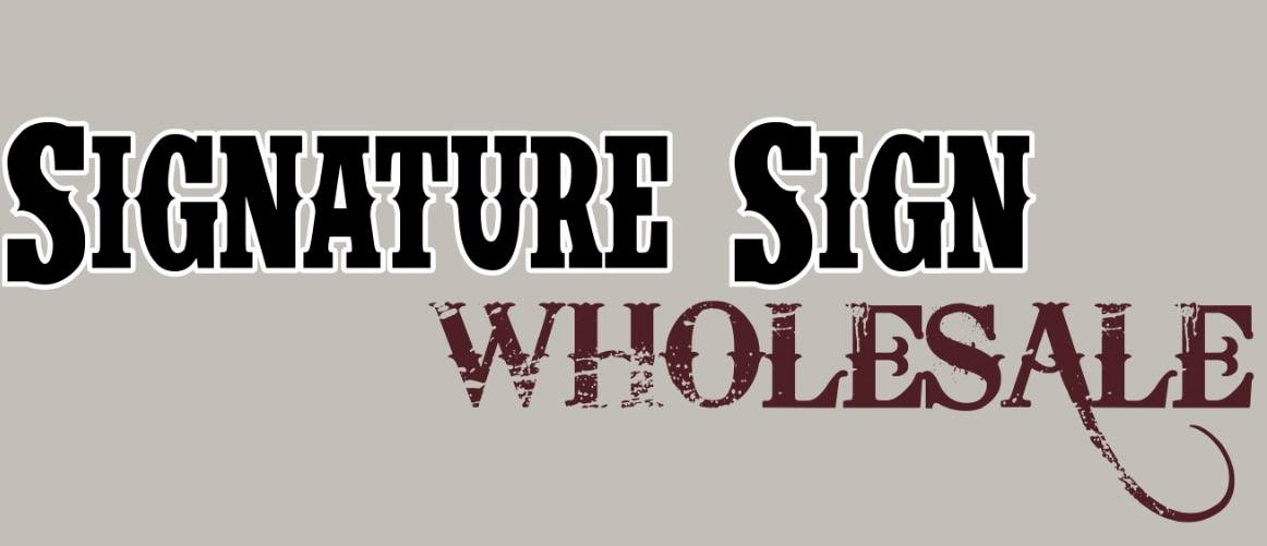 Signature Sign Wholesale Logo