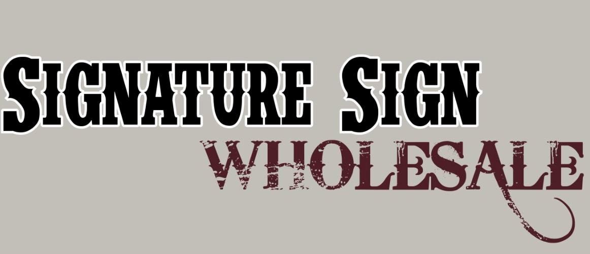 Signature Sign Wholesale Logo