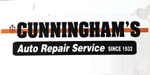 Cunningham's Auto Repair Service Logo