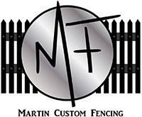 Martin Custom Fencing Logo