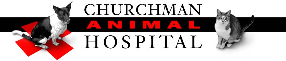 Churchman Animal Hospital Logo