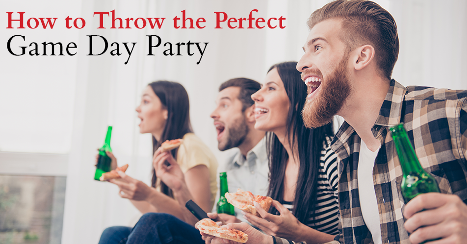 How to Throw the Perfect Game Day Party