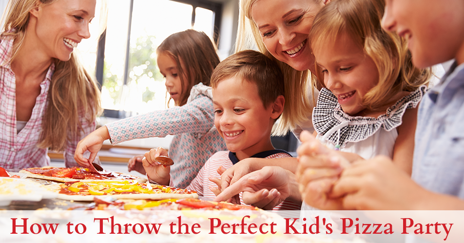 How to Throw the Perfect Kid's Pizza Party