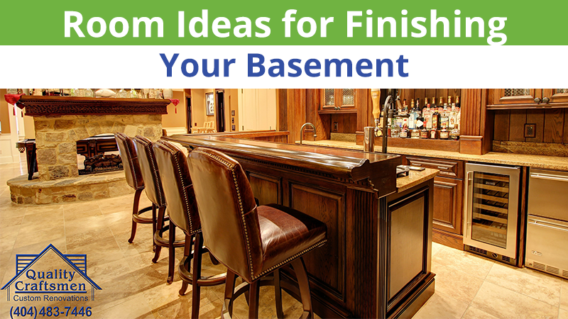 Room Ideas for Finishing Your Basement