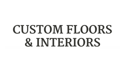 Custom Floors & Interiors Logo