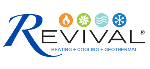 Revival Heating and Cooling Geothermal Logo