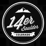 14er Boulder Logo