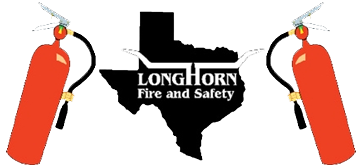 Longhorn Fire and Safety Logo