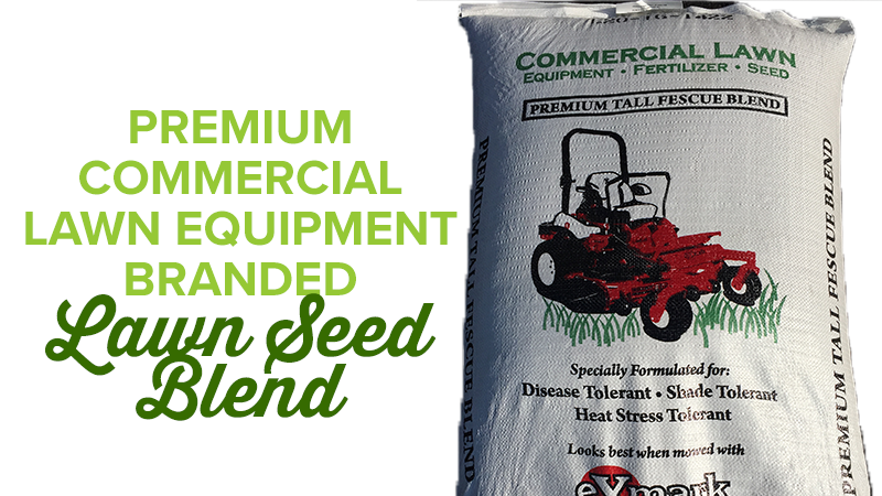 Premium Commercial Lawn Equipment Branded Lawn Seed Blend