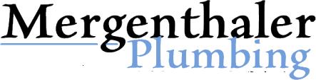 Mergenthaler Plumbing Logo