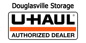 A Quality Storage and UHAUL Logo