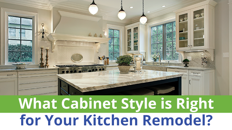 What Cabinet Style is Right for Your Kitchen Remodel?