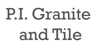 P.I. Granite and Tile Logo