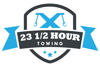 23 1/2 Hours Towing Inc. Logo
