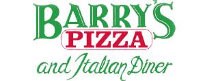 Barry's Pizza and Italian Diner Logo