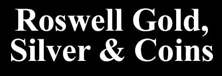 Roswell Gold, Silver & Coins Logo