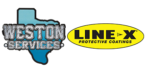 Weston Services & LINE-X of South Texas Truck Gear Logo