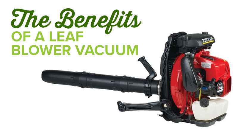 The Benefits of a Leaf Blower Vacuum