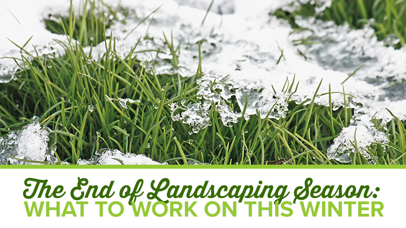 The End of Landscaping Season: What to Work on this Winter