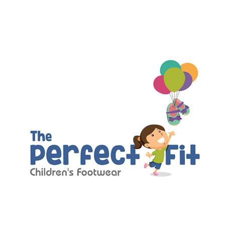 The Perfect Fit - Children's Footwear Logo