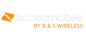 Boost Mobile by B & S Wireless Logo