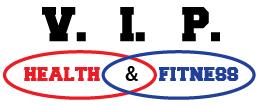 V.I.P. Health & Fitness Clinic Logo