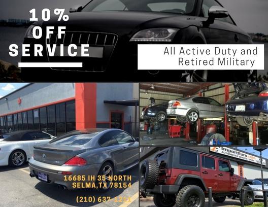 Import Euro Auto Repair Shop Selma Tx Import Euro Auto Repair Shop