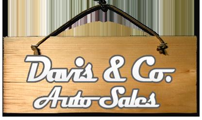 Davis & Co. Auto Sales Logo