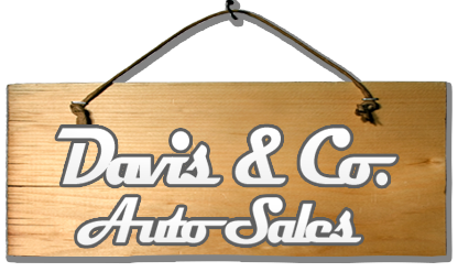 Davis & Co. Auto Sales Logo