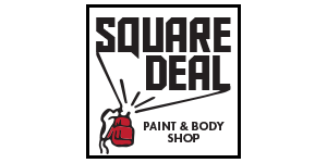 Square Deal Paint & Body Shop Logo