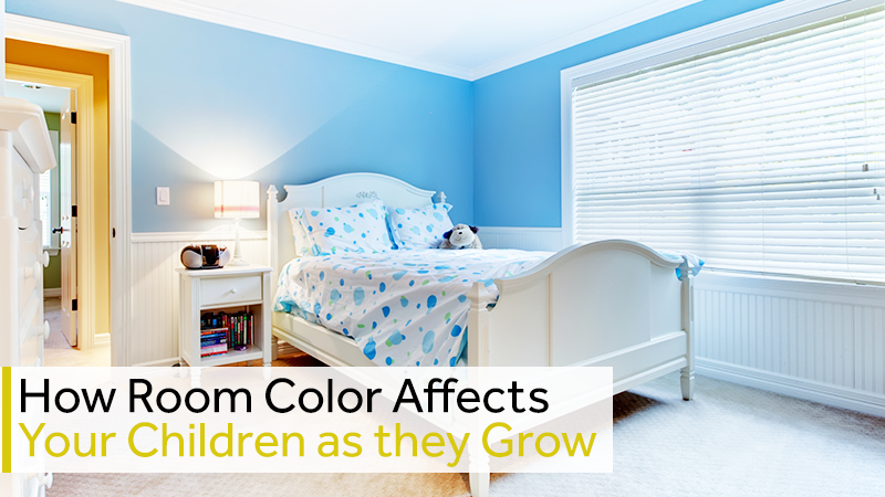 How Room Color Affects Your Children as they Grow