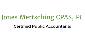 Jones Mertsching CPAS, PC Logo